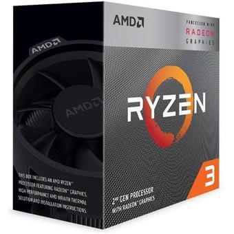 CPU AMD Ryzen 3 3200G 4core (3,6GHz) Wraith