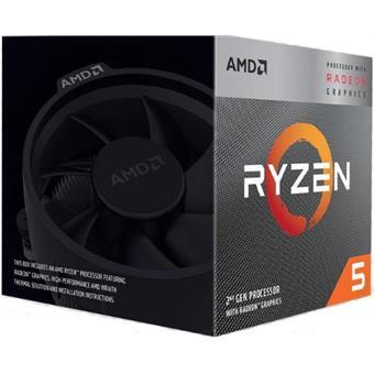 CPU AMD Ryzen 5 3400G 4core (4,2GHz) Wraith