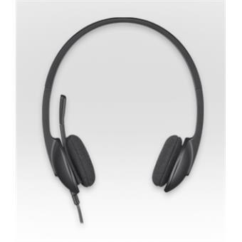 Náhlavní sada Logitech Stereo USB Headset H340