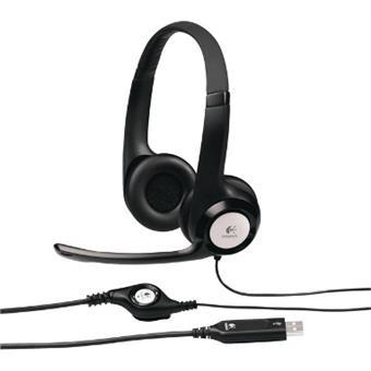 Náhlavní sada Logitech Stereo USB Headset H390
