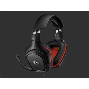 Náhlavní sada Logitech G332 Leatheratte - gaming headset