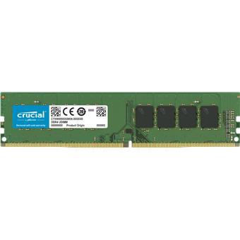 16GB DDR4 2666MHz Crucial CL19 UDIMM