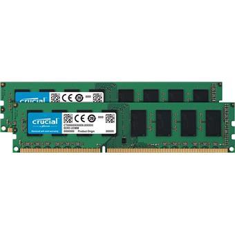 8GB DDR3L 1600MHz Crucial CL11 2x4GB 1.35V/1.5V