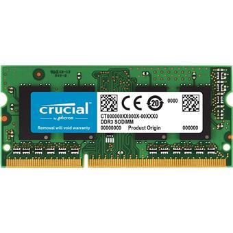 SO-DIMM 8GB DDR3L 1866MHz Crucial CL13 1.35V/1.5V