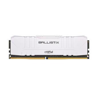 16GB DDR4 3000MHz Crucial Ballistix CL15 2x8GB White
