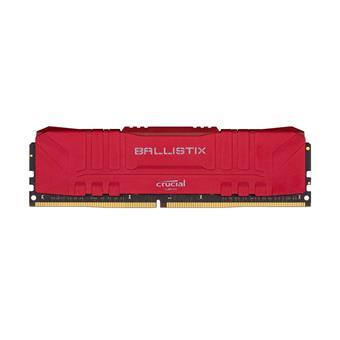 16GB DDR4 3200MHz Crucial Ballistix CL16 2x8GB Red