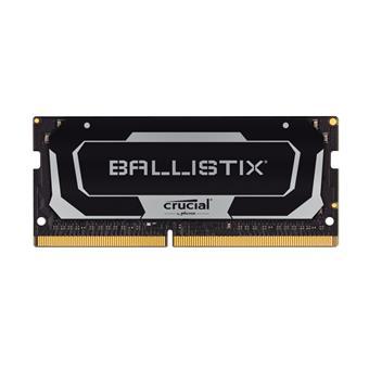 SO-DIMM 32GB DDR4 2666MHz Crucial Ballistix CL16 2x16GB Black