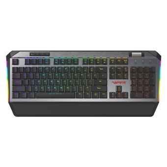 Patriot Viper 765 herní mechanická RGB klávesnice red box spínače