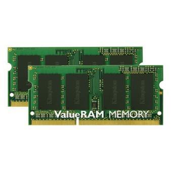 SO-DIMM 16GB DDR3-1333MHz Kingston CL9, kit 2x8GB