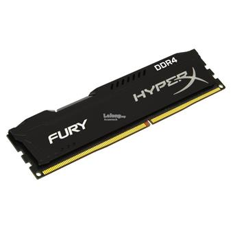 8GB DDR4 2666MHz CL16 DIMM 1Rx8 HyperX FURY Black