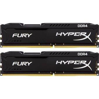 32GB 3200MHz DDR4 CL18 HyperX FURY Black, 2x16GB