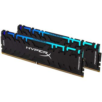 16GB DDR4-3600MHz HyperX Predator CL17 RGB, kit 2x8GB 1Rx16