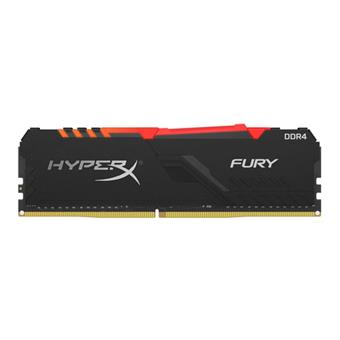 8GB DDR4-2666MHz CL16 HyperX Fury RGB