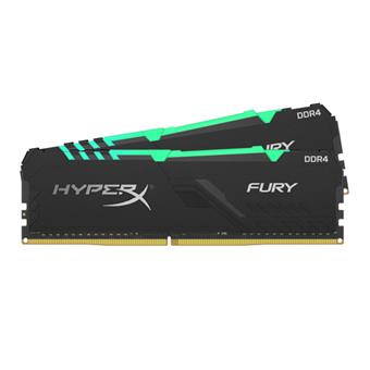 16GB DDR4-3200MHz CL16 HyperX Fury RGB, 2x8GB
