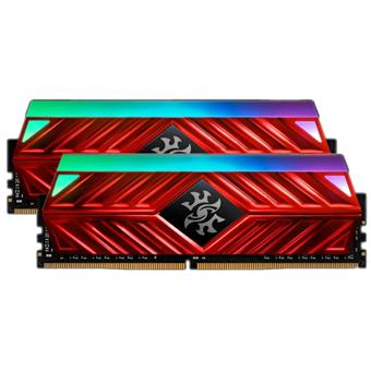 16GB DDR4-2666MHz ADATA XPG D41 RGB CL16, 2x8GB red