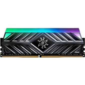 16GB DDR4-3000MHz ADATA XPG D41 RGB CL16, 2x8GB černá latency 16-20-20