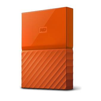 "Ext. HDD 2,5"" WD My Passport 2TB USB 3.0 oranžový"