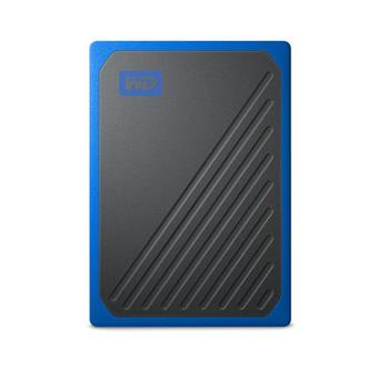 Ext. SSD WD My Passport GO 1TB USB3.0 modrý