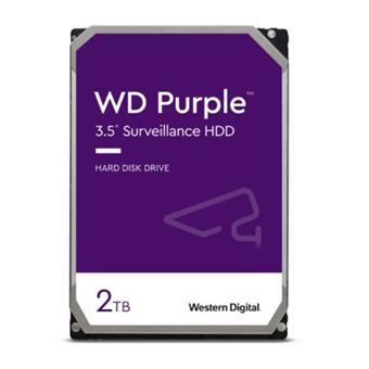 HDD 2TB WD20PURZ Purple 64MB SATAIII 5400rpm 3RZ