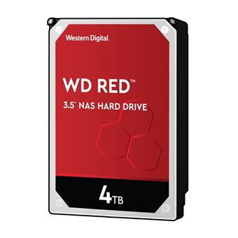 HDD 4TB WD40EFAX Red 256MB SATAIII 5400rpm
