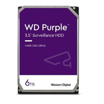 HDD 6TB WD62PURZ Purple 128MB SATAIII 5640rpm 3RZ