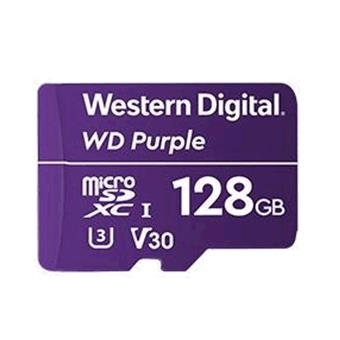 WD Purple microSDXC 128GB 100MB/s U3
