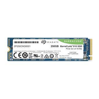 SSD 250GB Seagate BarraCuda 510 NVMe M.2 PCIe