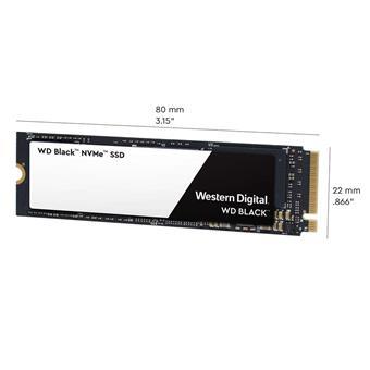 SSD 1TB WD Black NVMe M.2 PCIe Gen3 x4 2280
