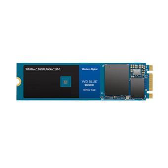 SSD 500GB WD Blue SN500 NVMe M.2 PCIe Gen3 2280