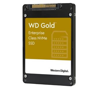 SSD 7.68TB WD Gold NVMe U.2 PCIe Gen3.1 7mm