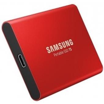 SSD 1TB Samsung externí,Červený