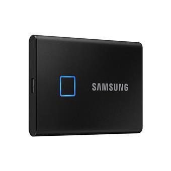 SSD 2TB Samsung externí T7 Touch, černý