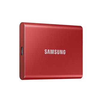 SSD 1TB Samsung externí, červený