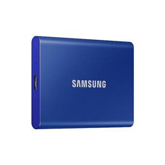 SSD 2TB Samsung externí, modrý