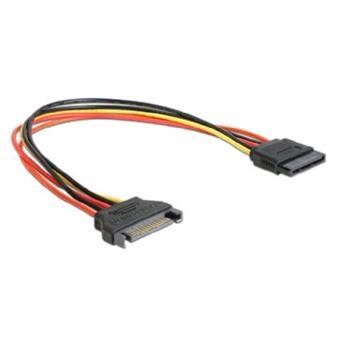 Kabel SATA prodloužení napájení, 30cm