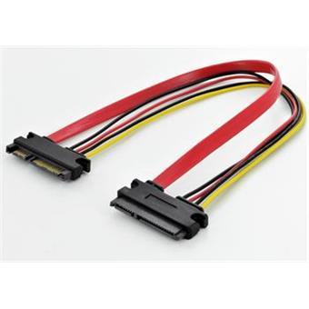 PremiumCord Prodlužka k HDD SATA 22pin, data + napájení, M/F, 30cm