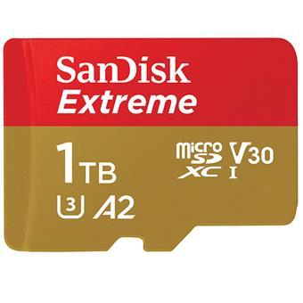 SanDisk Extreme microSDXC 1TB 160MB/s + adaptér