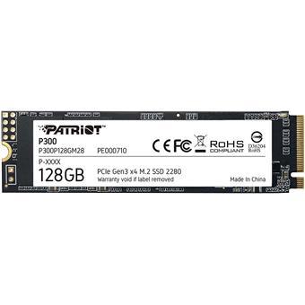SSD 128GB PATRIOT P300 M.2 2280 PCIe NVMe