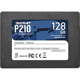 SSD 128GB PATRIOT P210 450/350 MB/s
