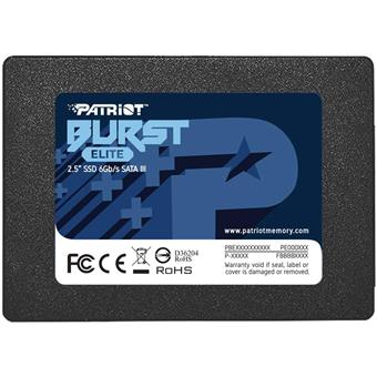 SSD 480GB PATRIOT Burst Elite 450/320MBs