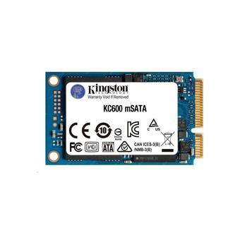 256GB SSD KC600  Kingston mSATA