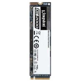 250GB SSD KC2000 Kingston M.2 2280 NVMe