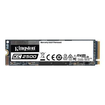 500GB SSD KC2500 Kingston M.2 2280 NVMe