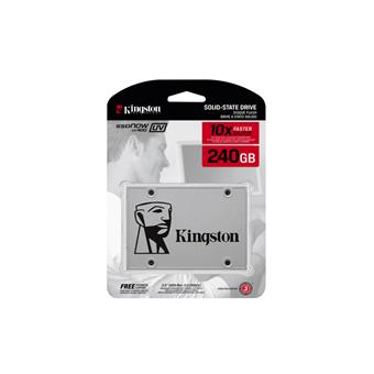 240GB UV400 Kingston SATA3 2.5 550/490MBs