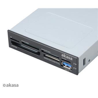 AKASA i/e USB 2.0 interní čtečka karet + USB 3.0