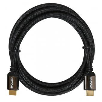 EVOLVEO XXtremeCord, kabel HDMI 2.0b, 2 metry, podpora UltraHD 4K2K/HDR