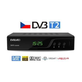 EVOLVEO Omega T2, HD DVB-T2 H.265/HEVC rekordér