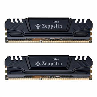 EVOLVEO Zeppelin, 2GB 800MHz DDR2 CL6, BLACK, box (2x1GB KIT)