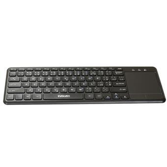 EVOLVEO WK32BG bezdrátová klávesnice s touchpadem