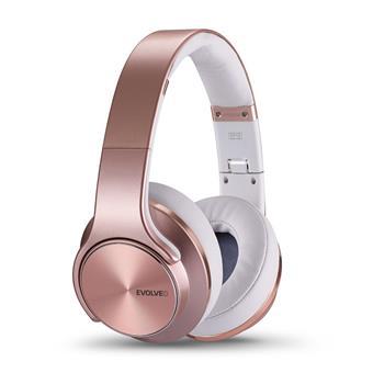 EVOLVEO SupremeSound E9, Bluetooth sluchátka a reproduktory 2v1, růžové